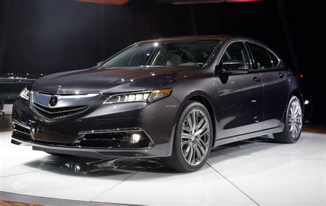 iihs released crash test result 2015 acura tlx