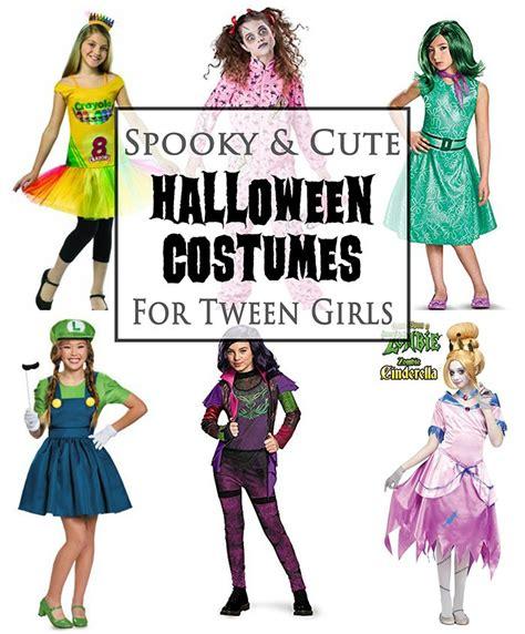 spooky cute halloween costumes tween girls love wear