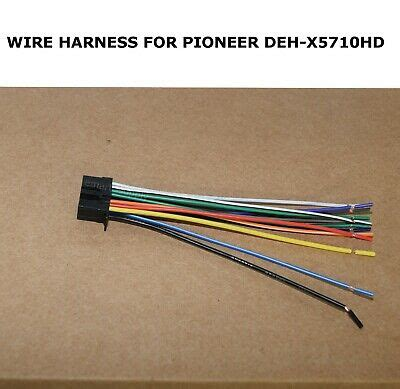 wire harness pioneer deh x5710hd dehx5710hd free fast