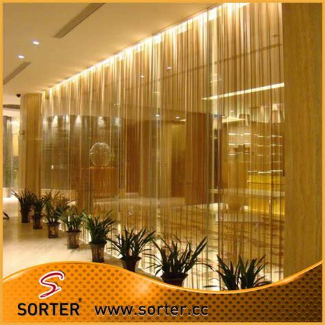 wholesale metal drapery decorative wire mesh curtain metal