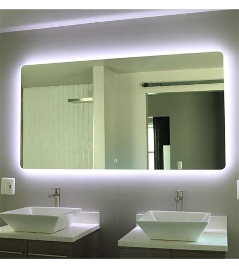 windbay 48 backlit led light bathroom vanity sink