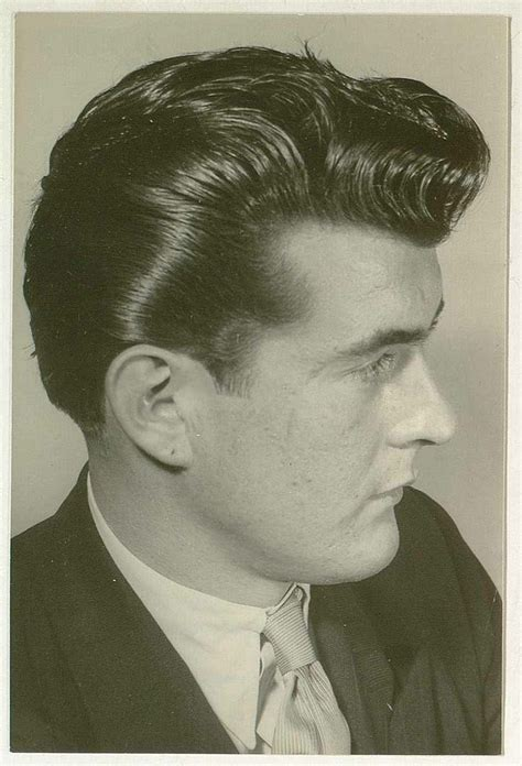 awesome vintage men ducktail hairstyles 1950 mens hairstyles