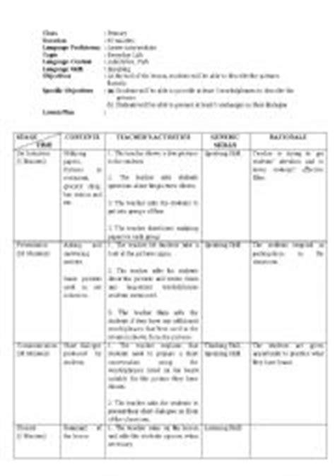 lesson plans worksheets