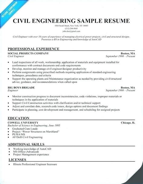 sle cv civil engineer civil site engineer cv