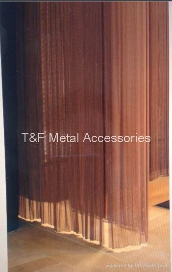metal wire mesh curtain room divider tf 189