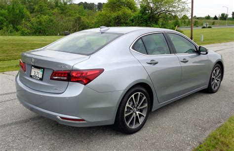 2016 acura tlx rear view 2 choose cars