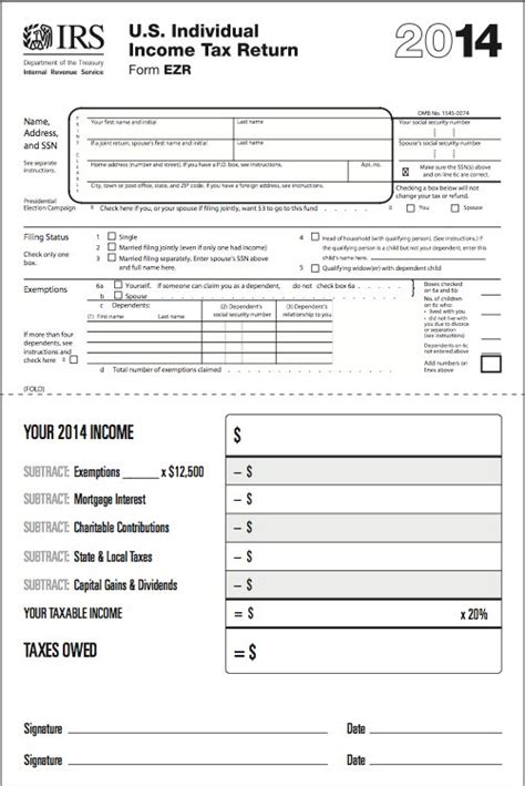 revealed tax form 2014 business insider