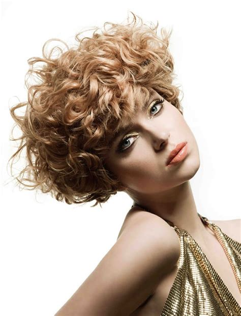 30 magnetizing short curly hairstyles women 2017 2018