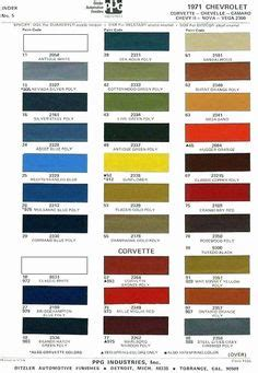 gm color chips color chips paint codes gm