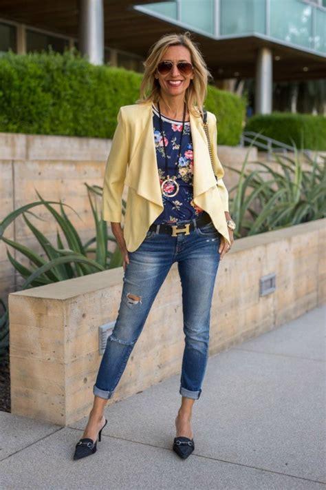6 ways wear pastels women 50 style guide