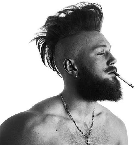 15 mohawk hairstyle men mens hairstyles haircuts