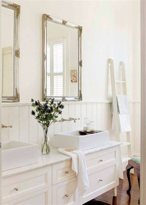 30 inspirations french style bathroom mirrors