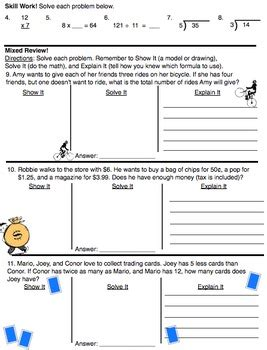 word problem worksheets identify correct expression common core