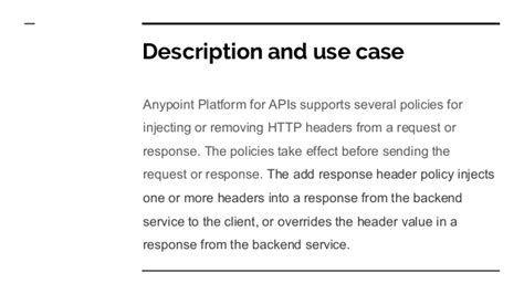 add response headers policy
