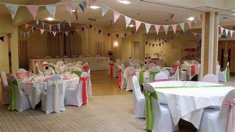 covered style wedding chair cover hire service based