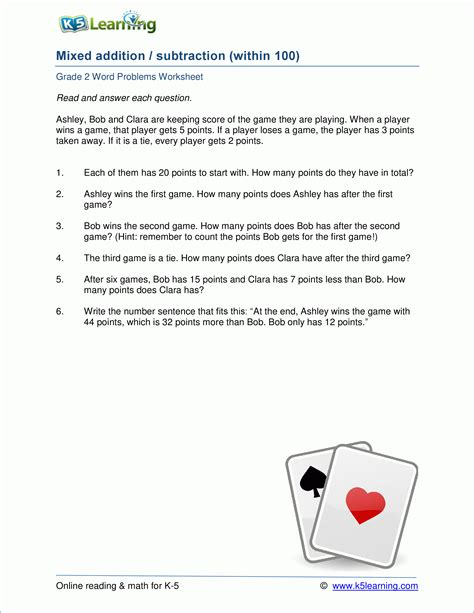 Maths Word Problems Worksheets Class 2.html