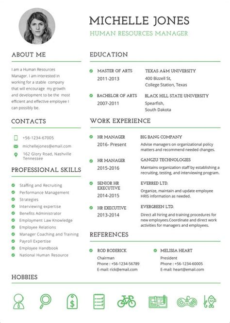 37 resume template word excel resume template free