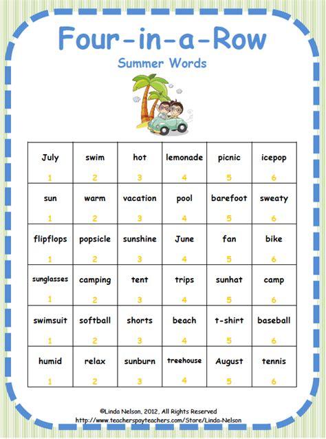 teacher entrepreneurs free language arts lesson summer fun