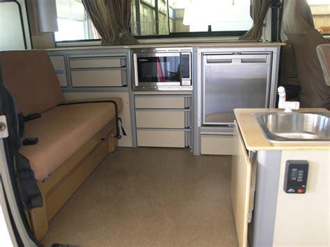 custom cabinet drawers microwave trim kit vanagon hacks