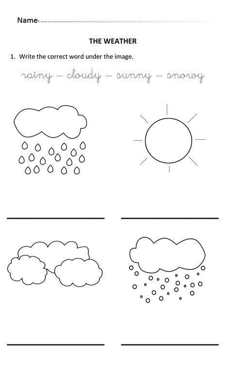 learning write weather keywords 5 6 years theweather