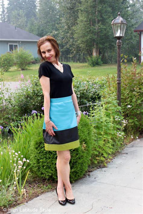 wear bright beautiful pattern high latitude style