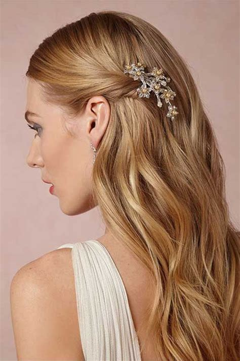 straight wedding hair inspirations big day everafterguide