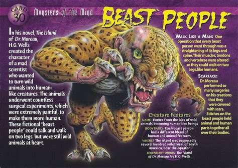 beast people wierd wild creatures wiki fandom powered