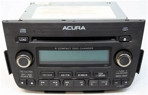 2005 2006 acura mdx factory 6 disc changer