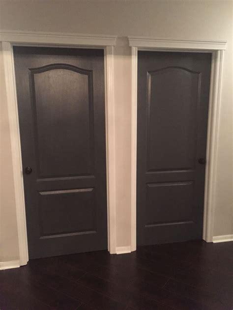 decision inting interior doors sherwin williams peppercorn black