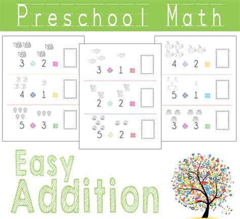 preschool math easy addition beautiful home