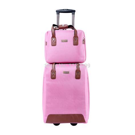 woman luggage travel bag rolling bag luggage set