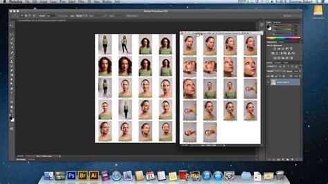 contact sheet adobe photoshop cs6 youtube
