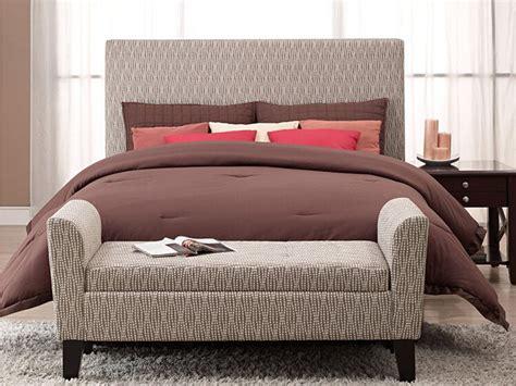 adorning bedroom bed ottoman bench homesfeed