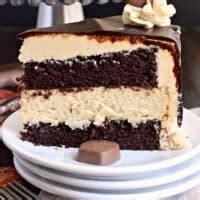 chocolate peanut butter cheesecake cake dove chocolate