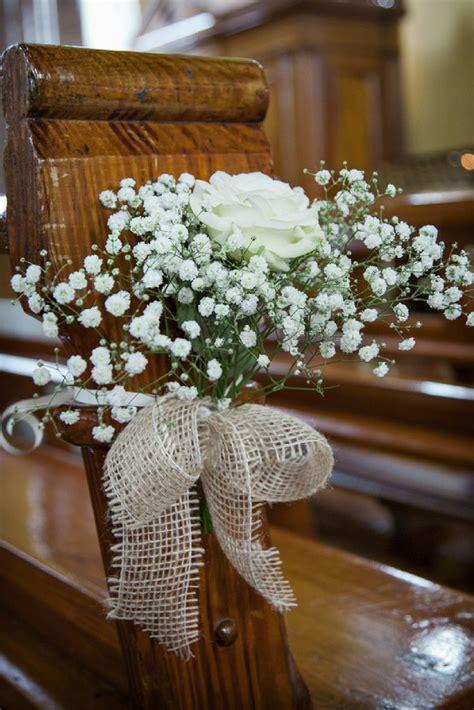5 easy diy ideas decorate wedding pews church