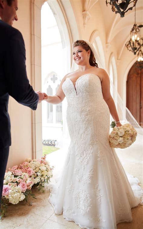 formal lace size wedding dress stella york wedding
