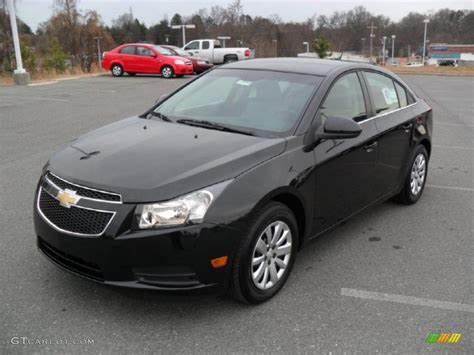 black granite metallic 2011 chevrolet cruze lt exterior