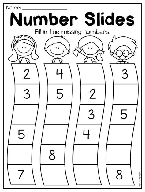 kindergarten numbers 20 worksheet pack numbers kindergarten kindergarten