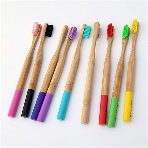 colors eco paint popular moso bamboo handle toothbrush