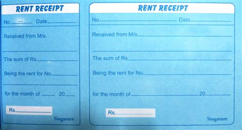 fake receipts claiming deduction house rent allowance