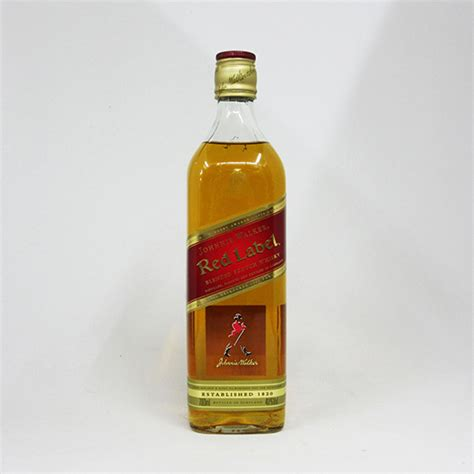 chuoshuhan 700 ml johnnie walker red label 40