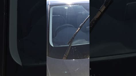 audi a4 b9 8w wipers driver side youtube