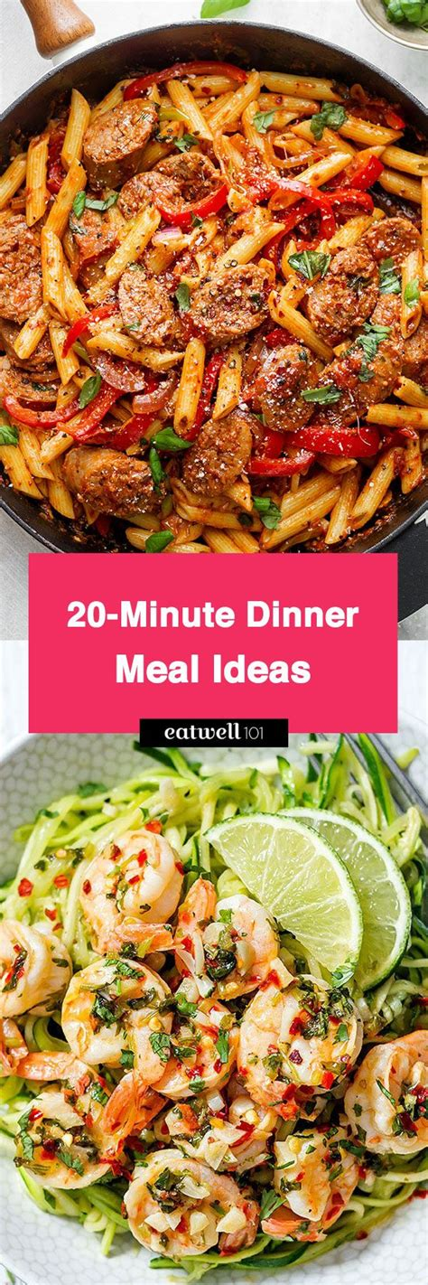 dinner meal recipes 13 delicious dinner meal ideas