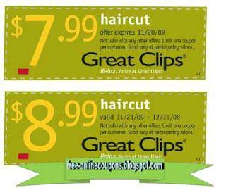 free printable great clips coupons haircut coupons great