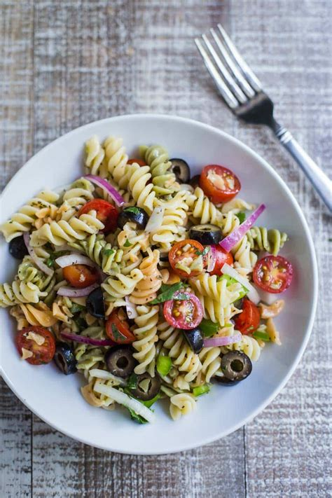 quick easy pasta salad food feeling