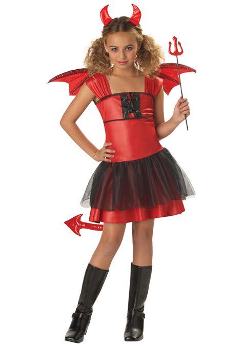 girls darling devil costume devil halloween costumes kids
