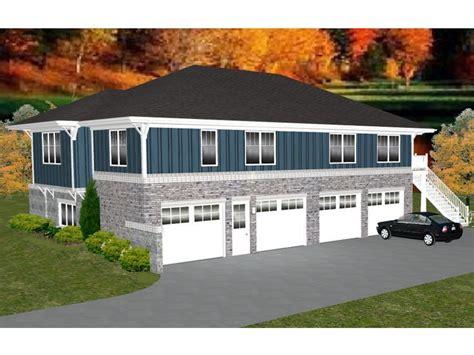 049g 0005 4 car garage apartment plan workshop