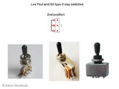 basic guitar electronics iii switches les paul sg