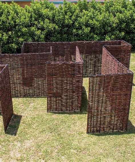 willow maze playhouse playhouses maze backyard