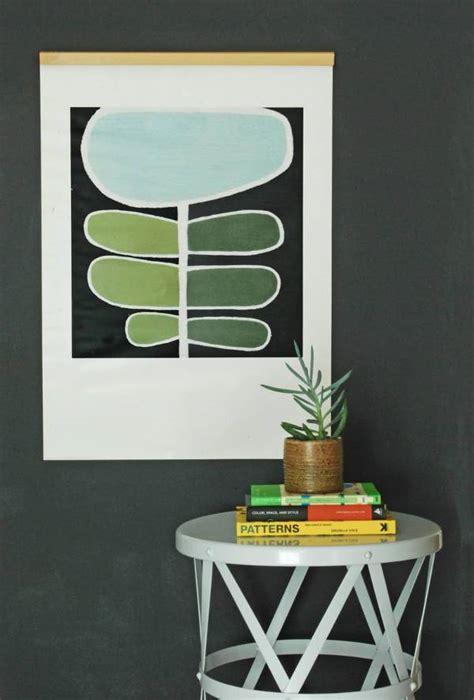 10 creative ways display artwork sans frame design